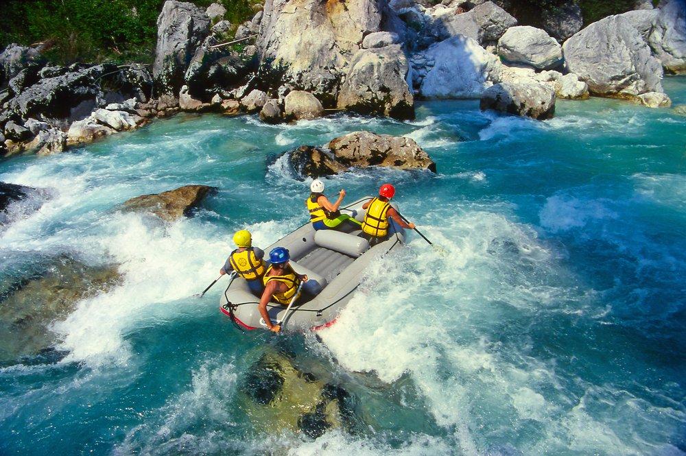 Hareketli Rafting